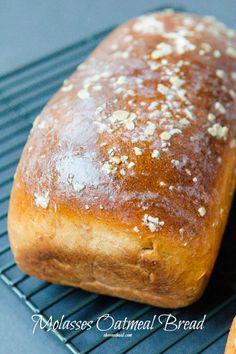 Yeast Bread Recipes, Bread Machine Recipes, Keto Bread, Bread Baking, Baking Recipes, Savoury Baking, Easy Bread, Cookie Recipes, Molasses Bread Machine Recipe