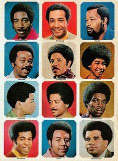 Afro Barbershop poster - no doubt! Black Men Haircuts, Black Men Hairstyles, Trendy Haircuts, Best Short Haircuts, Retro Hairstyles, Braid Hairstyles, Old School Barber Shop, Image Foto, Shaved Hair Cuts