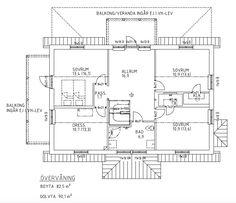 Villa Rosendal Special Planlösning plan 2