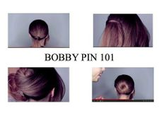Bobby Pin 101 With Daven and The Back of Michelle's Head!