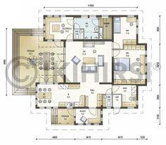Niekka 126 - Ikihirsi. jotain uusia ideoita huonesijoitteluun ym Floor Plans, Flooring, How To Plan, Sims, House, Dreams, Decoration, Home Decor, Decor
