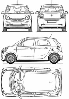 Smart forfour cd1 smart pinterest smart forfour and cars malvernweather Images