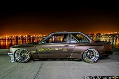 Rocket bunny e30 gorgeous color and wheels