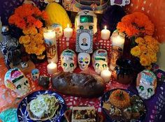 El dia de los muertos shrine