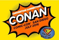 It is official and Conan O'Brian is headed back to San Diego Comic Con.   Today on the ticket service 1iota.com went live, but are not yet available.  Much like last year Conal will be hostin…