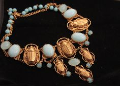 Askew London Scarab Necklace