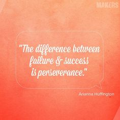 Arianna Huffington makes us think about #failure in a new light.