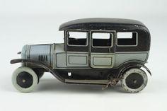 RARE Vintage German Bing Tin Toy Saloon Wind Up Car | eBay