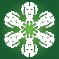 19 New Star Wars DIY Snowflake Templates for 2013.