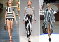 Trends for Spring/Summer 2013: Summer 2013 will be striped