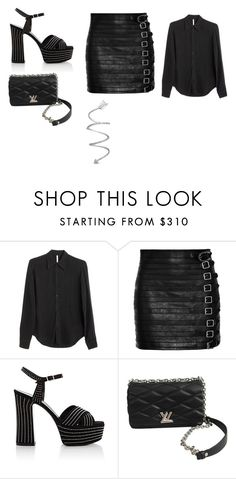 """""""Sin título #9184"""" by ceciliaamuedo ❤ liked on Polyvore featuring David Michael, Gucci, Yves Saint Laurent and Louis Vuitton"""