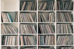 TOUCH esta imagem: Just a small part of Oskars huge record collection. Nowad... by FvF