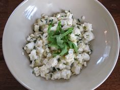 Ricotta Gnocchi with Corn and Chives