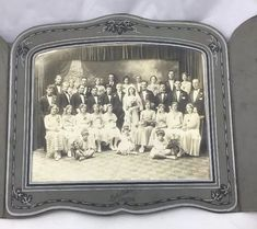 Antique Vintage 1920s Full Wedding Party PORTRAIT Photo Pottsville Pennsylvania  | eBay