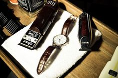 Gladstone Grooming- Nice bit of product placement with Kennett Watches