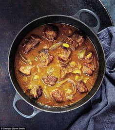 Mary Berry Family Sunday Lunches: Honey spiced pork casserole   Daily Mail Online