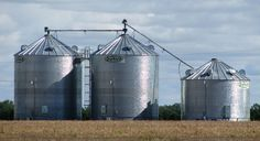 SUKUP GRAIN BINS & SHIVVERS DRYING SYSTEM BUILT BY DEVOLDER FARMS