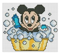 SCHEMA BABY TOPOLINO BAGNETTO crocette by syra1974 on DeviantArt