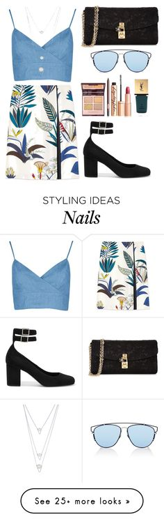 """Untitled #36"" by tazkiasaras on Polyvore featuring Yves Saint Laurent, Tory Burch, BERRICLE, Dolce&Gabbana and Christian Dior"