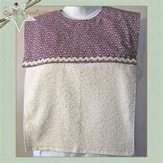 Image result for free pattern adult bibs