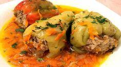 Фаршированный перец, вкусное, ароматное и сытное блюдо, которое можно приготовить на несколько дней. Ингредиенты: Перец …
