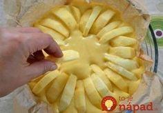 Najjemnejší krémový jablčník na taliansky spôsob!