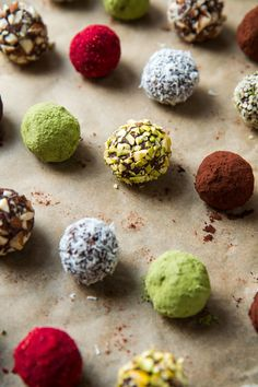 Chocolate truffle en