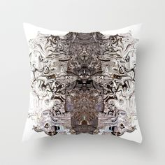 Buy Abstract: The White Rabbit  by Sonia Marazia as a high quality Throw Pillow. Worldwide shipping available at Society6.com. Just one of millions of…
