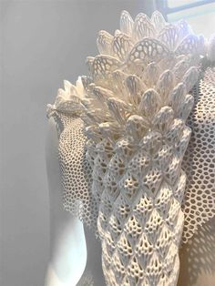 3ders.org - Designer Simone Leonelli's 'Blurred Boundaries' between art, fashion, and 3D printing | 3D Printer News & 3D Printing News