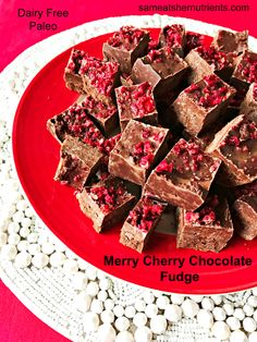 Chocolate Fudge with Health Benefits. Read about it on the blog and get the recipe!