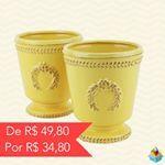 Vaso Olive! Nas cores amarelo, verde, branco, azul e rosa! Aproveite! (Preço por unidade) www.youdoit.com.br