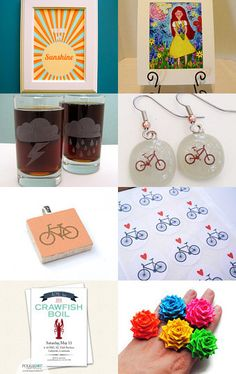 Spring Has Sprung! by Austin Craft Riot on Etsy--Pinned with TreasuryPin.com