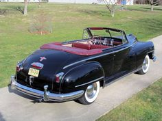 1948 Chrysler Windsor convertible..Re-pin brought to you by agents of #Carinsurance at #HouseofInsurance in Eugene, Oregon