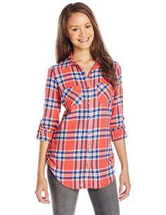 374d4cced0f Derek Coronary heart Junior s Fergie s Flannel Plaid Button-Down Shirt -  Fashion Trends