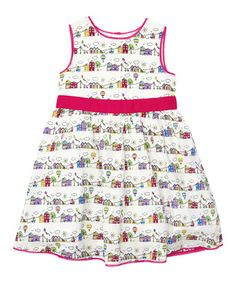 Take a look at this Cream Summer Day Party Dress - Infant, Toddler & Girls by JoJo Maman Bébé on #zulily today!