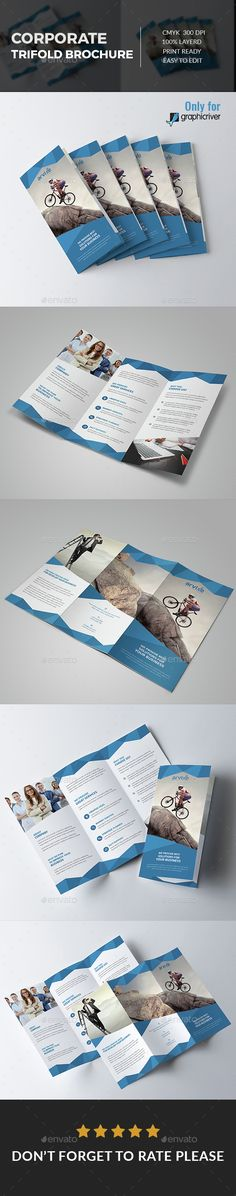 Corporate Tri fold Brochure Template PSD. Download here: http://graphicriver.net/item/corporate-tri-fold-brochure/15303782?ref=ksioks