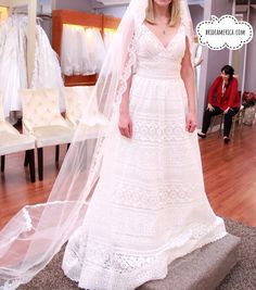 Wedding Dress at Bridal and Veil in San Diego, California. Beautiful Wedding Dresses and Bridal Gowns in San Diego.