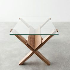 Best coffee table design ever; put your books and magazines under there and still looks so clean and minimal (Marco Guazzini) Cheap Furniture, Table Furniture, Rustic Furniture, Vintage Furniture, Furniture Ideas, Victorian Furniture, Modular Furniture, Scandinavian Furniture, Furniture Showroom