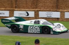 1984 Porsche 956B.  3rd place Group C, 1984 24 Hours of Le Mans.  By Greg Webb Photographer, via Flickr.