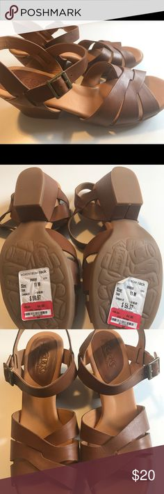 Kork leather sandals NWT! Purchased from Nordstroms Rack Shoes Sandals