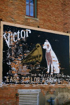 Ghost Sign- Buda, Illinois