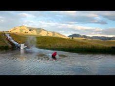 Human Slingshot Slip and Slide -- Vooray (full version)