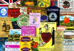 CUTOUT EMBELLISHMENTS, Clip Art Grab Bag, Scrapbook Ephemera, Vintage Advertising, Antique Reproductions, Ephemera, Collage Cutouts, Set 105 by retrowallart on Etsy