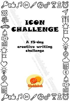 This pack is a creative writing challenge using icons and short phrases as inspiration. It very cleverly combines visual literacy with creative writing. A certificate of completion is included as well. Visual Literacy, Certificate Of Completion, Writing Challenge, Writing Resources, Creative Writing, Challenges, Day, English, Icons