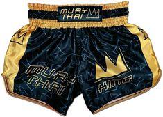 Unisex Muay Trunks in Blue King Forever Training Shorts Kick boxing Girls Thai Boxing
