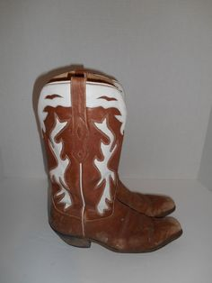 Vintage boots  Distressed Rugged Slip on by ATELIERVINTAGESHOP, $45.00