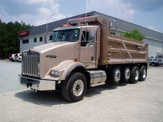 dump trucks for sale   ... 2008 Kenworth T800 Heavy Duty Truck For Sale in North Carolina Durham