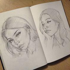 Pencil Art Drawings, Art Drawings Sketches, Cute Drawings, Horse Drawings, Animal Drawings, Portrait Art, Portraits, Pencil Portrait, Arte Sketchbook