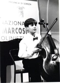 Another photo from little Luka and one of his first cello competitions :-) #memories