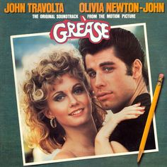 Grease Soundtrack - You`re The One That I Want Lyrics. Grease Soundtrack Miscellaneous You're The One That I Want Performed by John Travolta and Olivia Newton John I got chills they're multipl Olivia Newton John, John Travolta, Lp Vinyl, Vinyl Records, Soundtrack Music, Musical Grease, Grease 1978, Vintage Movies, Music Videos